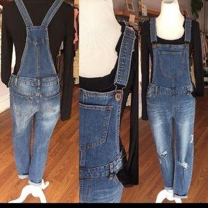 Skinny Denim overalls by Hammer Jeans